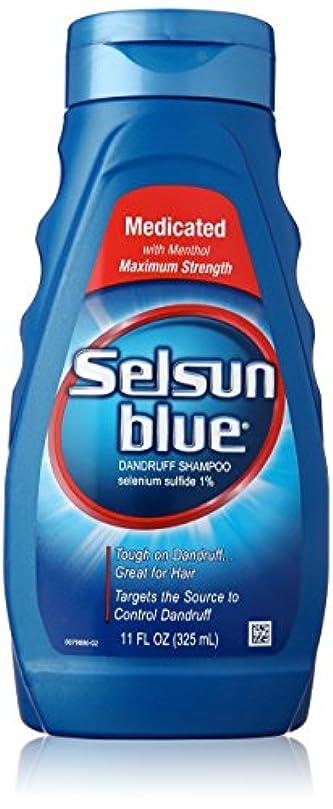 流狭い突撃Selsun Blue Naturals Dandruff Medicated 325 ml (並行輸入品)