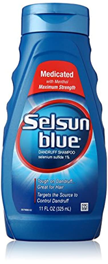 聖書読書ドラムSelsun Blue Naturals Dandruff Medicated 325 ml (並行輸入品)