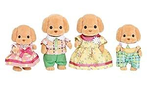 シルバニアファミリー 人形 トイプードルファミリー