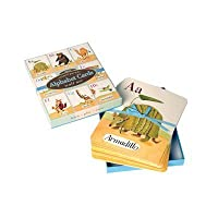 Alphabet Cards: Animal Parade Wall Art [並行輸入品]