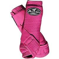 Professional 's Choice VenTECH Eliteスポーツ医学4ブーツ前面と背面脚ライト重量快適Horse脚保護