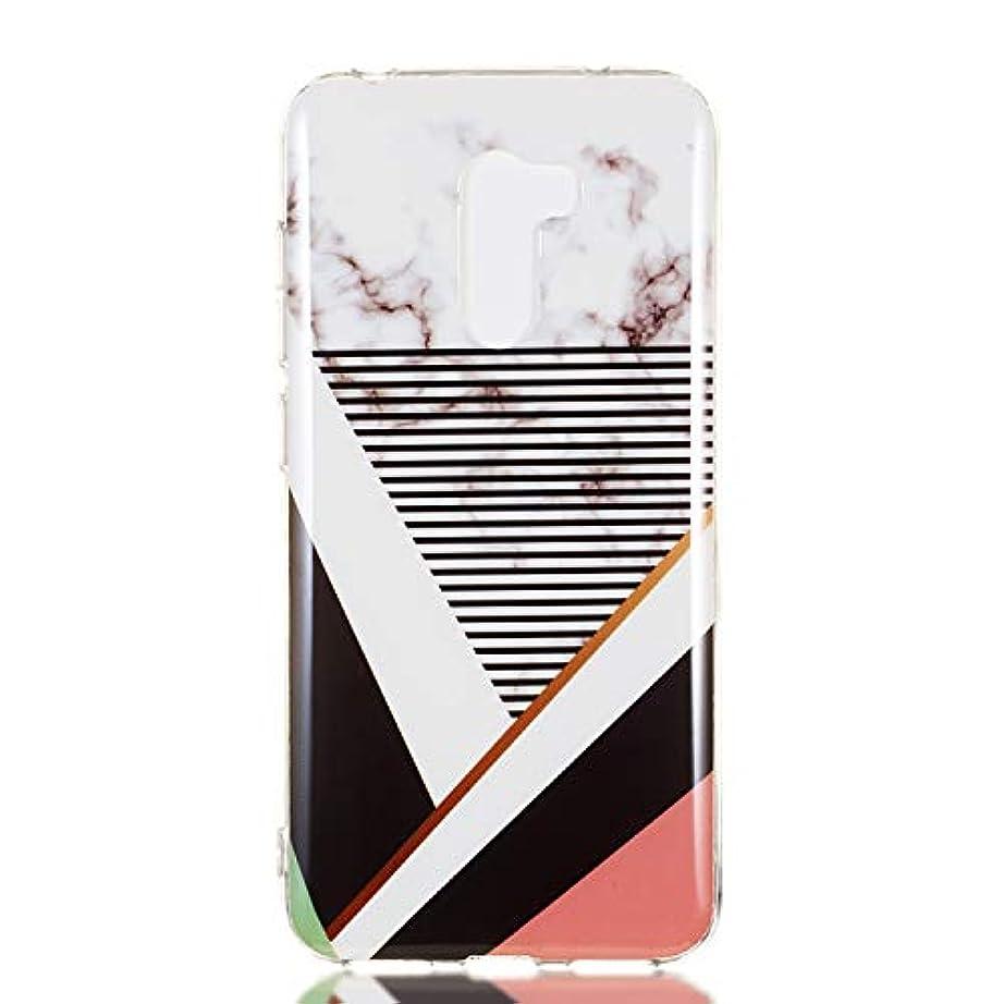 Docrax Xiaomi Pocophone F1 ケース 耐衝撃 シリコン 落下防止 Xiaomi Poco F1 ケース ソフト カバー 傷つき防止 - DOYHU261087 D7