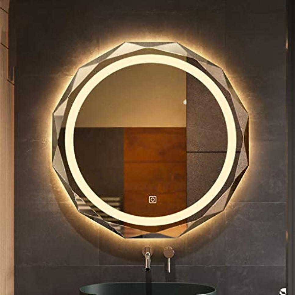 SWNE LED ミラー 鏡 壁掛け 壁掛け鏡 女優ミラー 化粧鏡 浴室鏡 壁掛け 風呂鏡 明るタッチボタン付き メイクアップ ドレッサー 化粧台 洗面台に適用【 女性のための最高の贈り物】