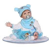 NPK collection 2017新しい22インチソフトビニールReal lifelke Rebornベビー人形Realistic新生児Dolls Toys FreeマグネットおしゃぶりXmas Present