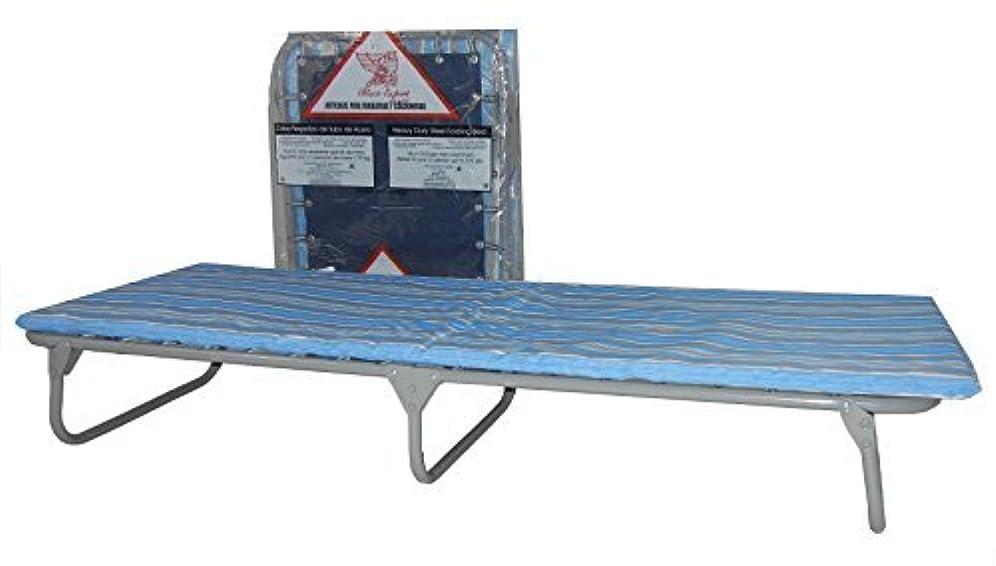 が欲しい育成キャッシュBlantex Heavy Duty Steel Folding Cot with Foam Mat Blue [並行輸入品]