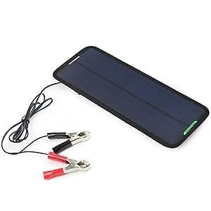 ALLPOWERS カーソーラーチャージャー 18V 7.5W ソーラーパネル 自動車/オートバイ/トラクター/ボート用ソーラーバッテリー