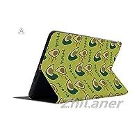 Zhilaner ipad 9.7 ケース 2018 手帳型 iPad 2019 10.5インチ ケース iPad air3 ケース 10.5インチ ipad mini1/2/3 ケース ipad mini4 ケース ipad mini5 ケース ipad第五世代 ケース ipad第六世代 ケース アイパッドA1893 A1954 2018 9.7 ケース ipad 9.7インチ ケース iPadair1 iPadair2 iPadair3ケース ipad pro 11 ケース 2018 おしゃれ ipad プロ11 ケース 二つ折り スタンド 耐衝撃 タブレットケース 面白い アボカド 可愛い フルーツ アボカド キャラクター グリーン