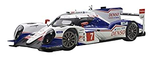 トヨタ TS040 HYBRID ル・マン24時間レース 2014 #7 (A.ヴルツ & S.サラザン & 中嶋一貴) ※FIA世界耐久選手権 (WEC) 2014 マニュファクチャラーズ・チャンピオン  『トヨタ TS040 HYBRID』は、トヨタが2014年のFIA世界耐久選手権(WEC)・LMP1カテゴリー参戦用に開発したプロトタイプレーシングカー。 最大520psの自然吸気3.7リッターV8エンジンと、480psの回生エネルギーが得られる前後輪の車軸のスーパー・キャパ...