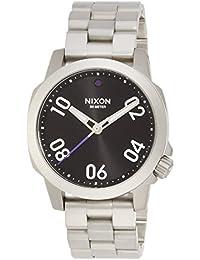 [ニクソン]NIXON RANGER 40: BLACK NA468000-00  【正規輸入品】