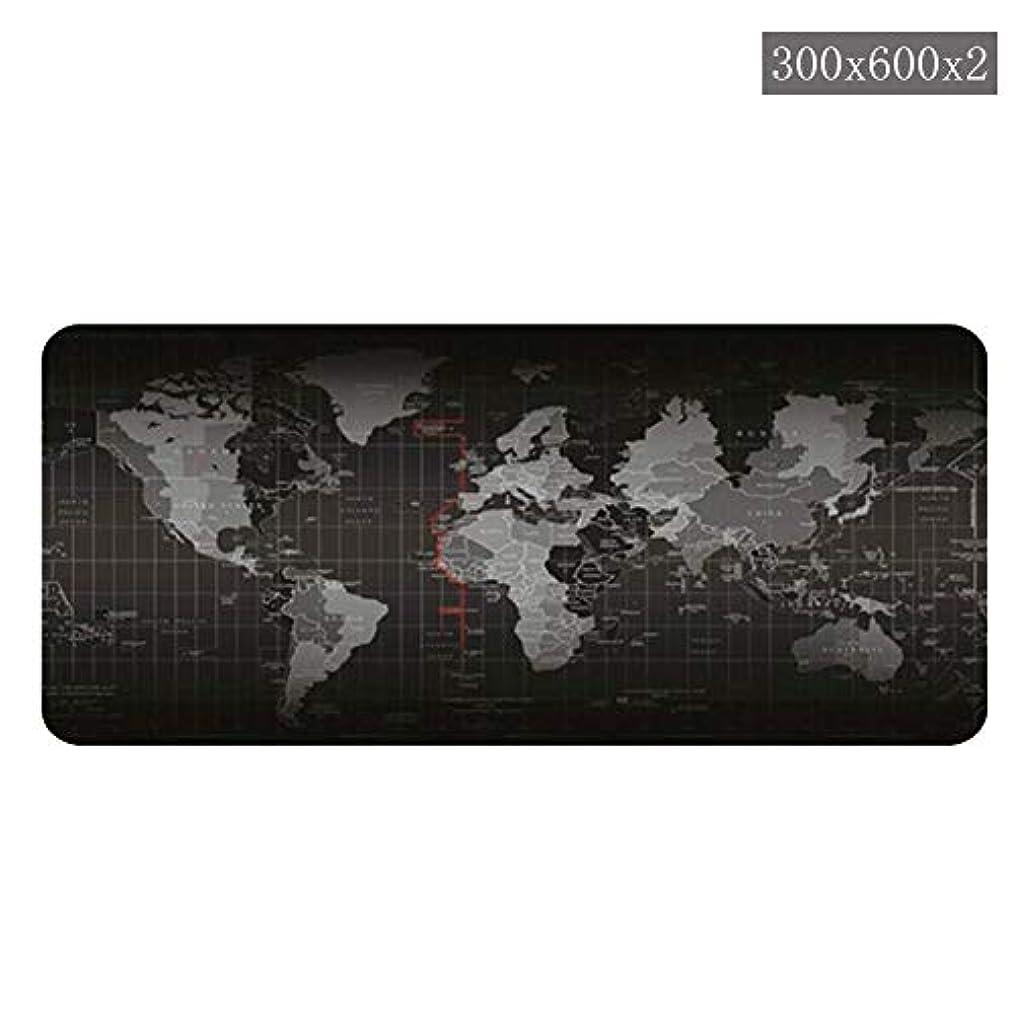 ミスペンド普遍的な容疑者【Chneg-store】世界地図デスクマット 大きめの高精度の継ぎ目のない滑りパッド入りのゲーム用キーボードパッド &デスクトップ、ラップトップ、キーボード、ゲーム機などに適しています 正確でスムーズな操作体験をお楽しみください
