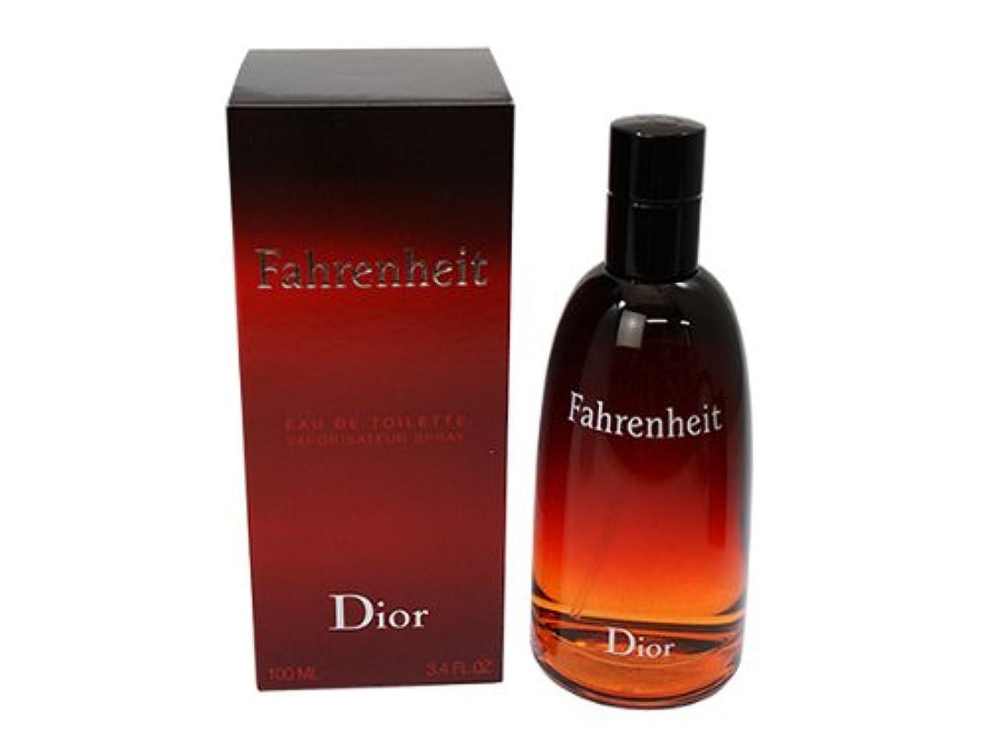 仲良し養う背が高いファーレンハイト Dior クリスチャンディオール オードトワレ EDT 100ML メンズ用香水、フレグランス