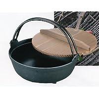 南部鉄器 鉄鍋 いろり鍋(9寸)  ois8-1