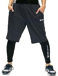 [リンクス スポーツ] スポーツタイツ ショートパンツ セット 大きいサイズ スパッツ メンズ