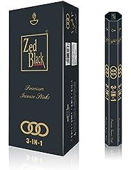 Zedブラック3 - in - 1 Incense sticks- 3 Pleasant Aromas – プレミアム長持ち90ナチュラルお香の香りsticks-pack 6 (15 perボックス) Aroma Incense...