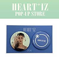 IZ*ONE (ウンビ) PIN BUTTON SET [HEART*IZ POP UP STORE GOODS] OFFICIAL MD アイズワン 公式