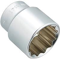 トネ(TONE) ソケット 12角 6D41 対辺寸法:41×差込角:19.0×全長:63mm 1個