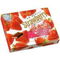 明治 ストロベリーチョコレート BOX 26枚 6コ入り