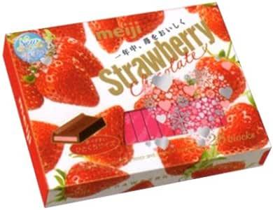 明治 ストロベリーチョコレート BOX 26枚 48コ入り