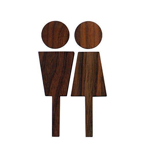 Hacoa トイレサイン Toilet sign-W ウォー...