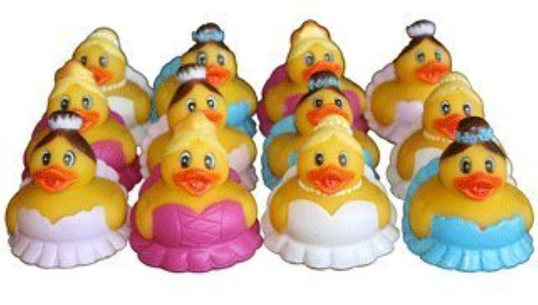 One Dozen (12) Ballet Rubber Ducks by RINCO [並行輸入品]
