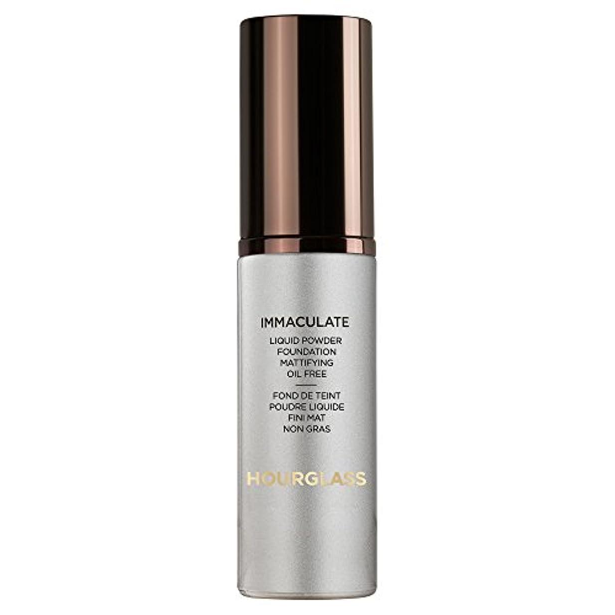 引き出し毛布迷路砂時計真っ白な液体パウダーファンデーションバニラ (Hourglass) (x2) - Hourglass Immaculate Liquid Powder Foundation Vanilla (Pack of 2)...