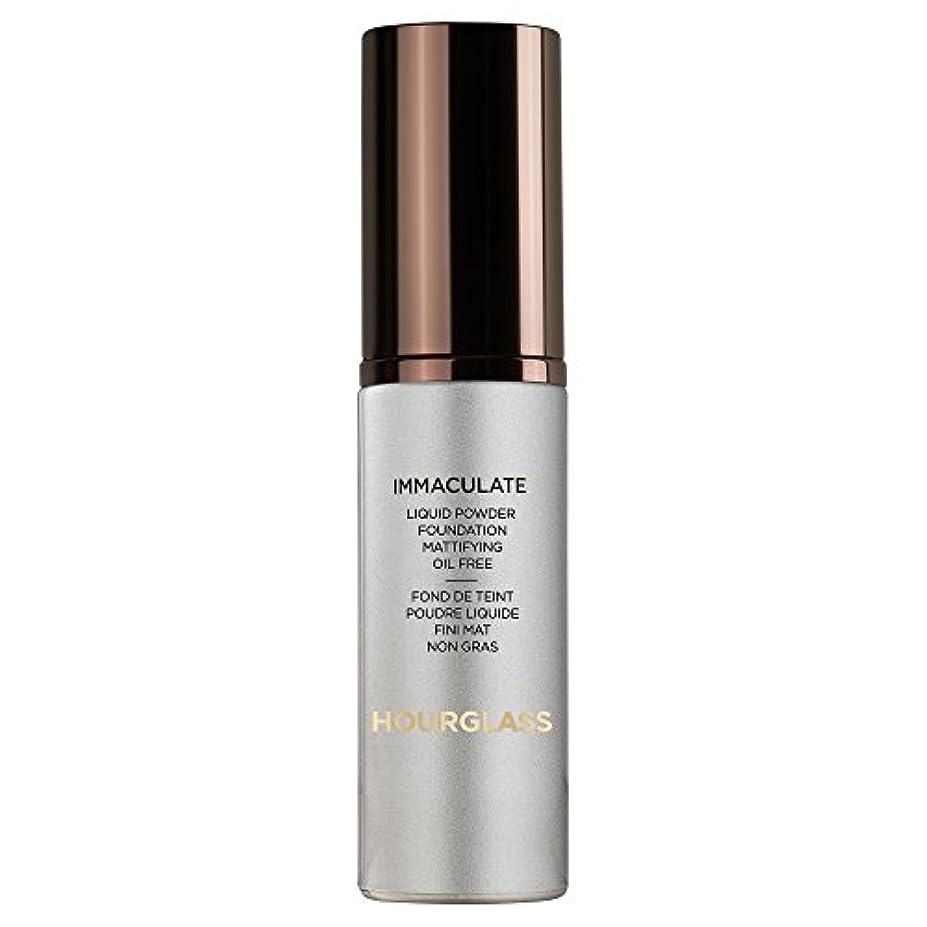 革命アイロニー尊敬ヌード砂時計真っ白な液体パウダーファンデーション (Hourglass) (x2) - Hourglass Immaculate Liquid Powder Foundation Nude (Pack of 2) [並行輸入品]