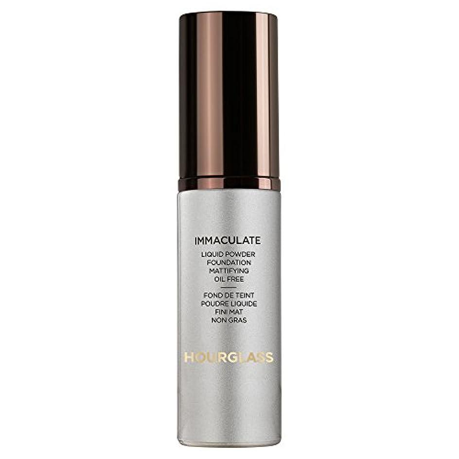 聖人チェリー意図する砂時計真っ白な液体パウダーファンデーションバニラ (Hourglass) (x6) - Hourglass Immaculate Liquid Powder Foundation Vanilla (Pack of 6)...