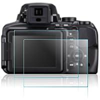AFUNTA Nikon P900 P600 P900 P610 P900s P610s 用 デジカメ用保護フィルム 液晶保護フィルム 保護シート超薄型 スクラッチ防止 2枚入り