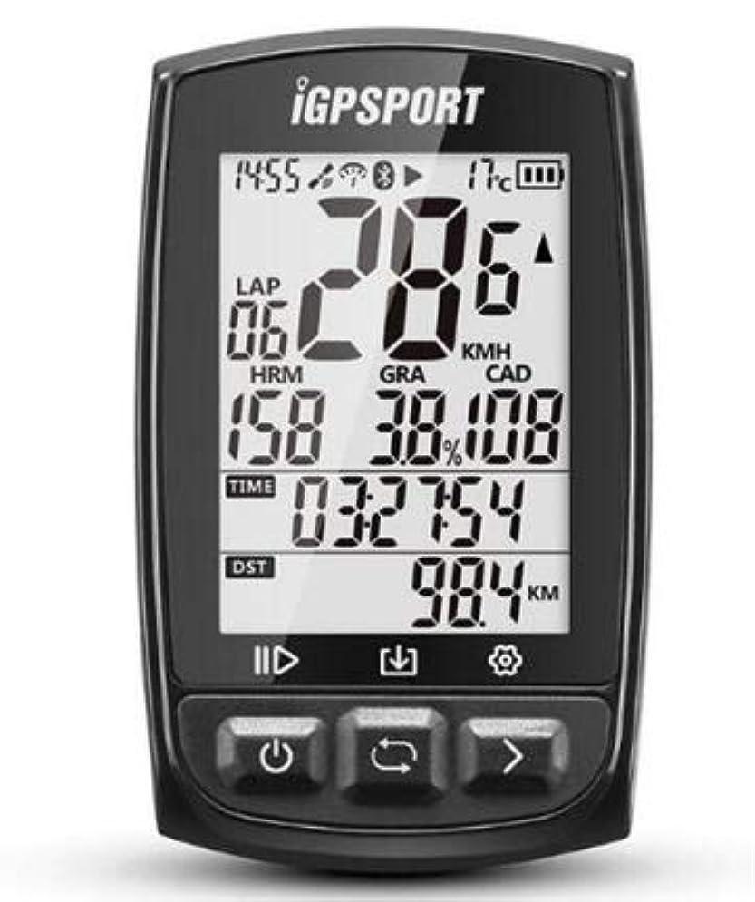道徳の爬虫類概してIGPSPORT IGS50EバイクANT +のBluetooth 4.0を搭載したコンピュータストップウォッチ自転車コンピュータIPX7防水GPS
