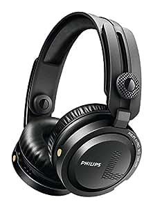 PHILIPS 密閉型DJヘッドホン オンイヤー/折りたたみ式 ブラック A1PRO
