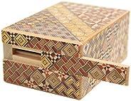 箱根寄木細工 秘密箱9回仕掛け 貯金箱
