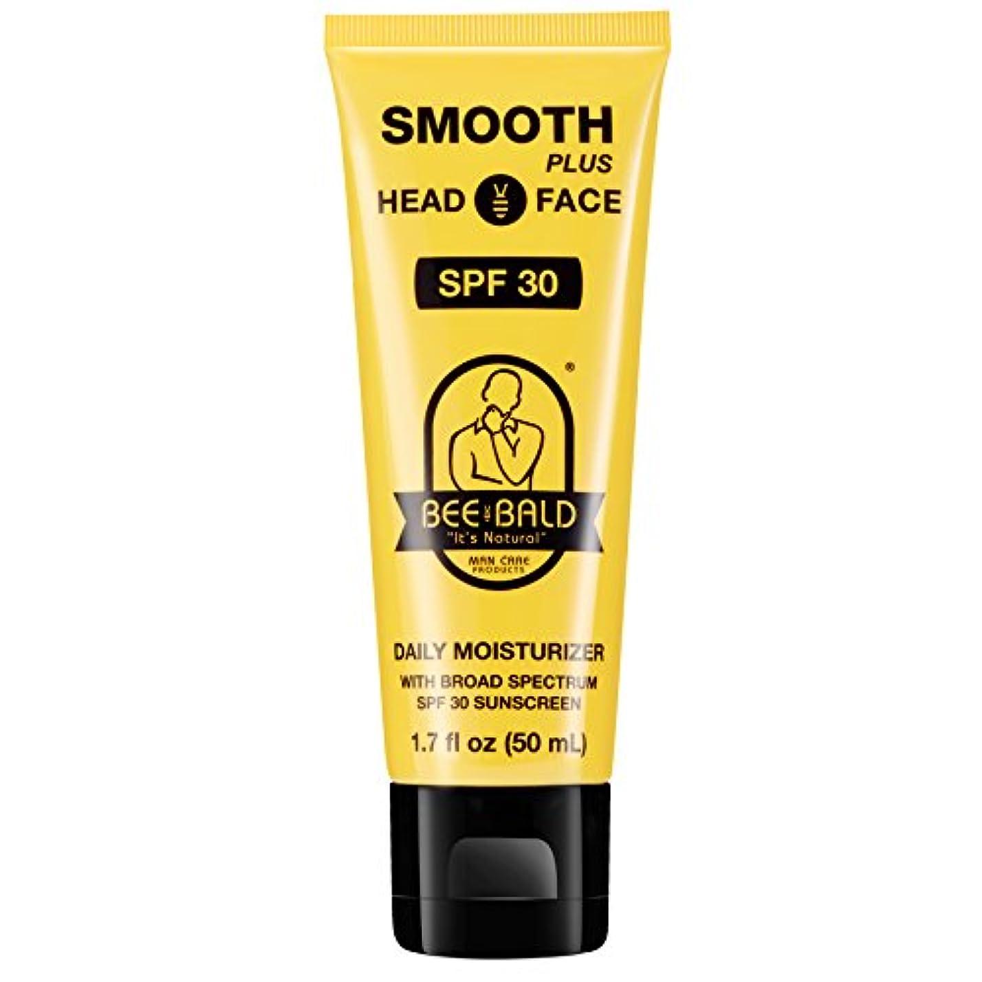 ピッチャー建物罪人Bee Bald SPF 30幅広いスペクトルとのスムーズなプラス毎日の保湿剤