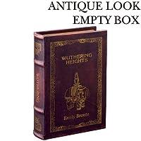 アンティークな雰囲気のブックボックス キーストーン アンティークルック エンプティボックス H ANEMBOH