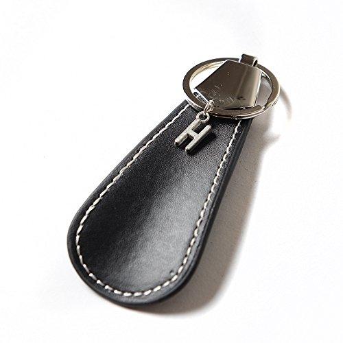【Ahorita】アオリッタ 選べるイニシャル 靴べら おしゃれ 携帯用 キーホルダー H
