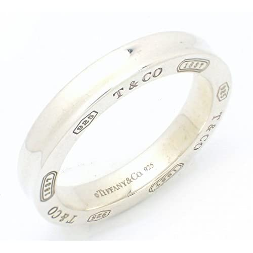 [ティファニー] TIFFANY&Co. インターロッキング サークル リング 指輪 ロゴ SV925 シルバー 14号