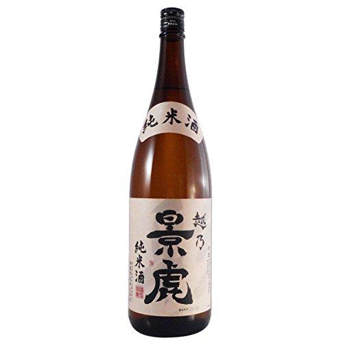 越乃景虎 純米酒 1.8L