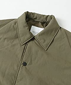 Padded Coaches Jacket UR77-17B010: Khaki