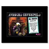 AVENGED SEVENFOLD - All Excess Mini Poster - 21x13.5cm