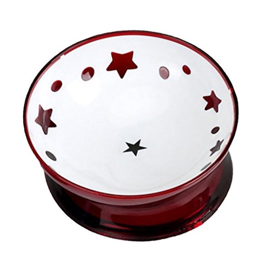踏みつけ変数レンドBaoblaze ペット用品 犬 フードフィーダー 猫 水 ボウル 摂食ボウル 皿 容器 滑り止め 全2色 - 赤