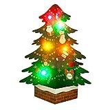 サンリオ クリスマスカード 洋風 ライト&メロディ ポップアップ フェルトツリー S7314