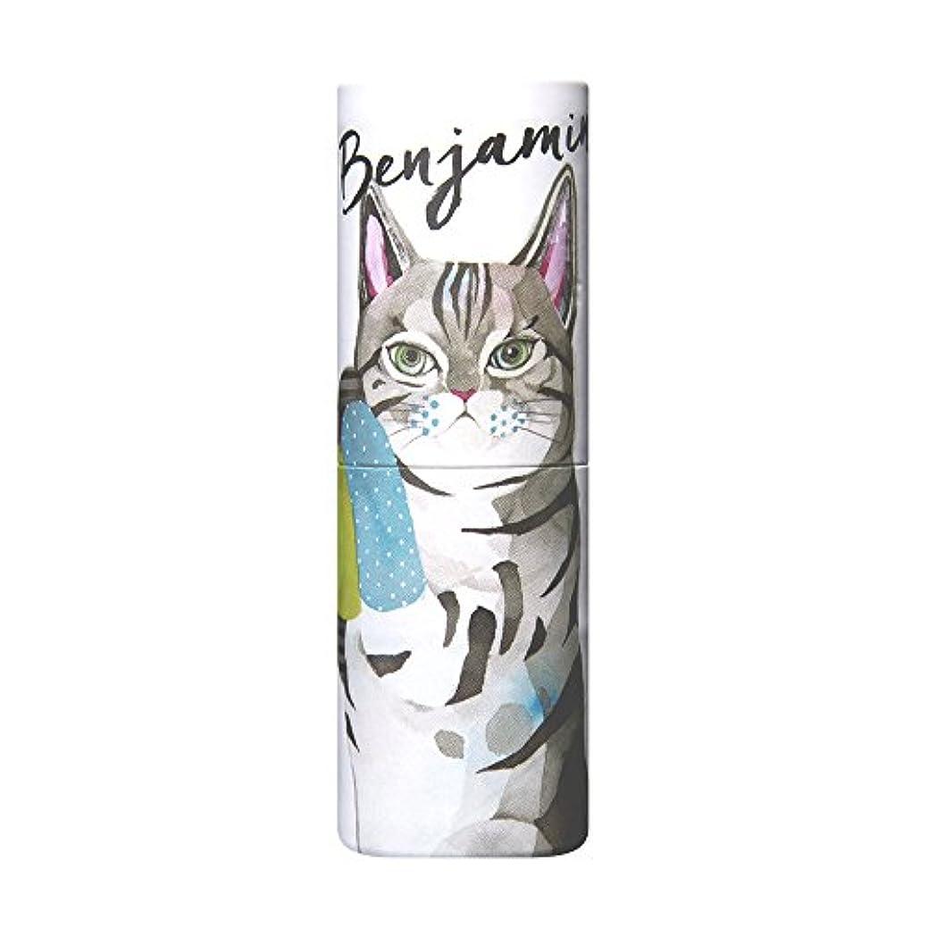 キー九月雑草ヴァシリーサ パフュームスティック ベンジャミン ネコ  ねり香水 5g
