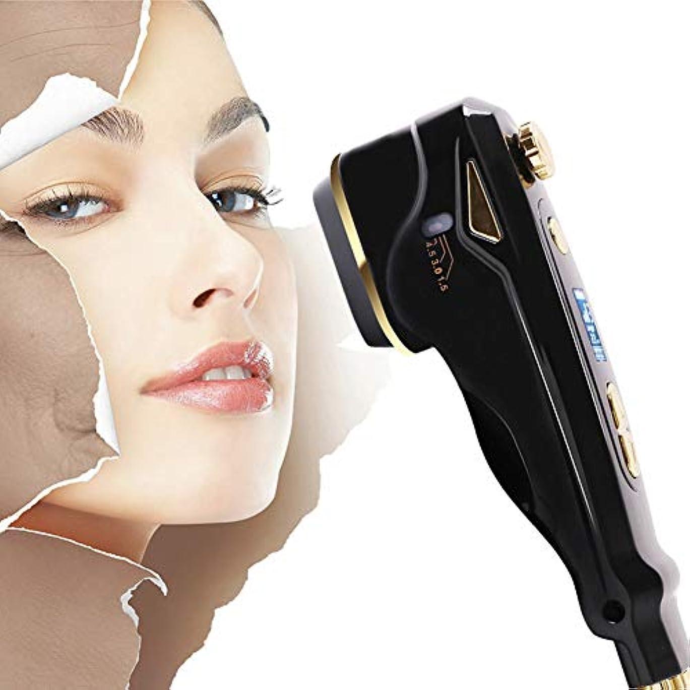最終的にカジュアル湿地ミニ 1の3 HIFU アンチエイジング 改築 デバイス、 世帯 RF フェイシャル 美しさ 機械 へ 家庭での使用 肌の若返り、 首 しわの除去、 ホワイトニング、 肌の引き締め デバイス