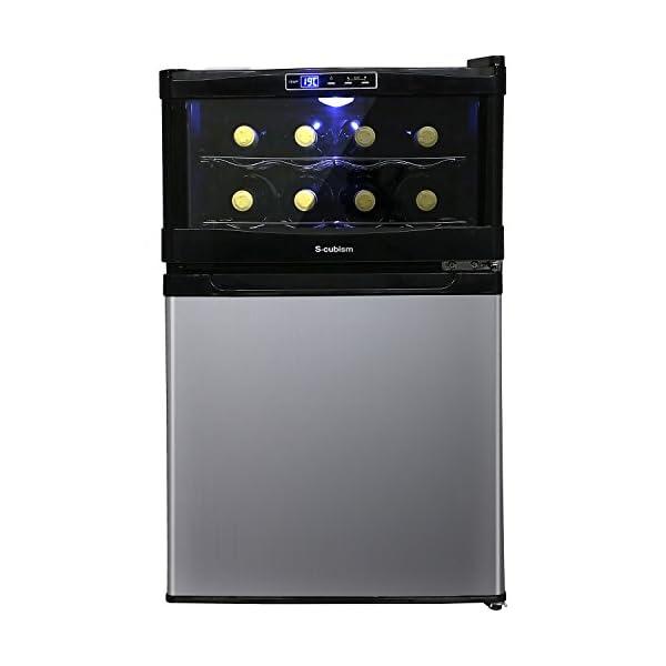 エスキュービズム 冷蔵庫一体型ワインクーラー 1...の商品画像