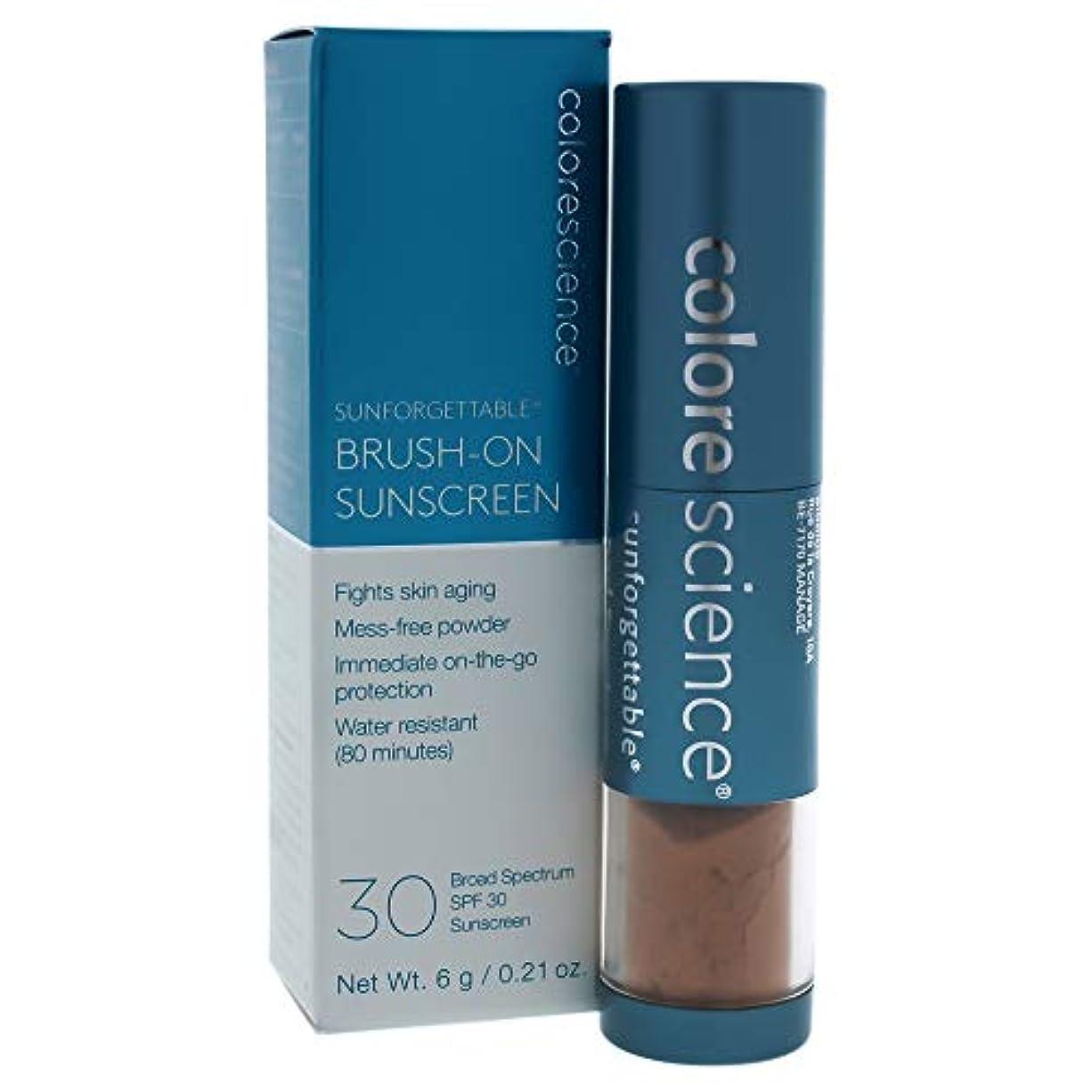 銀変形メロンSunforgettable Brush-On Sunscreen SPF 30 - Deep