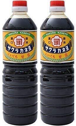 サクラカネヨ 甘露1リットル2本セット