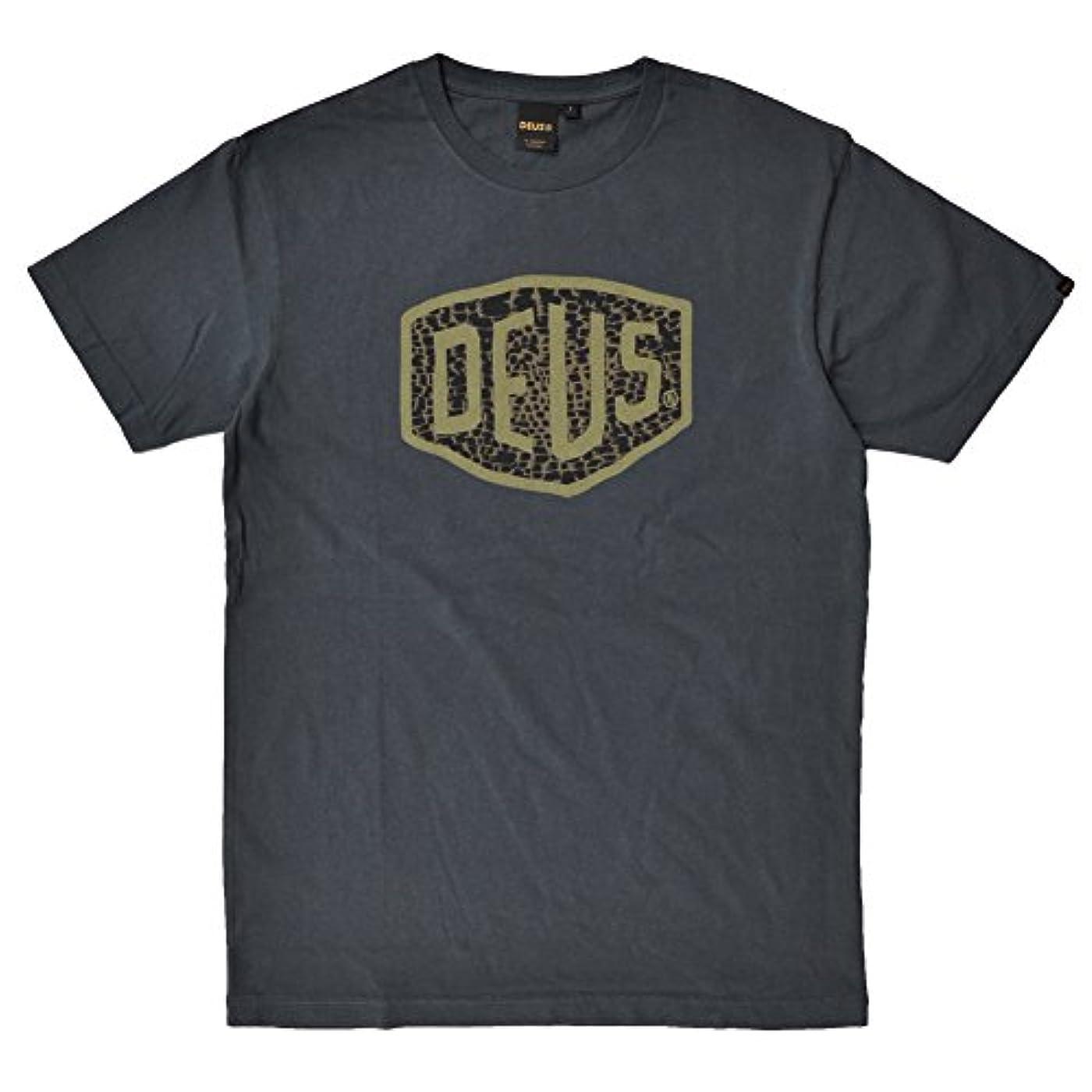 尽きる不快なスキーム(デウス エクス マキナ) Deus Ex Machina VENTURA SHIELD TEE Tシャツ (並行輸入品)