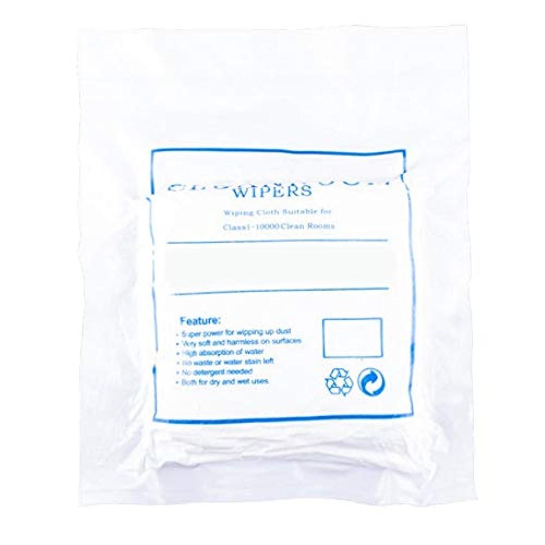 強度簡単にロイヤリティほこりのない布のスクリーンクリーニングほこりのない布のほこりのない紙3009ホワイト4インチ400個/パッケージ