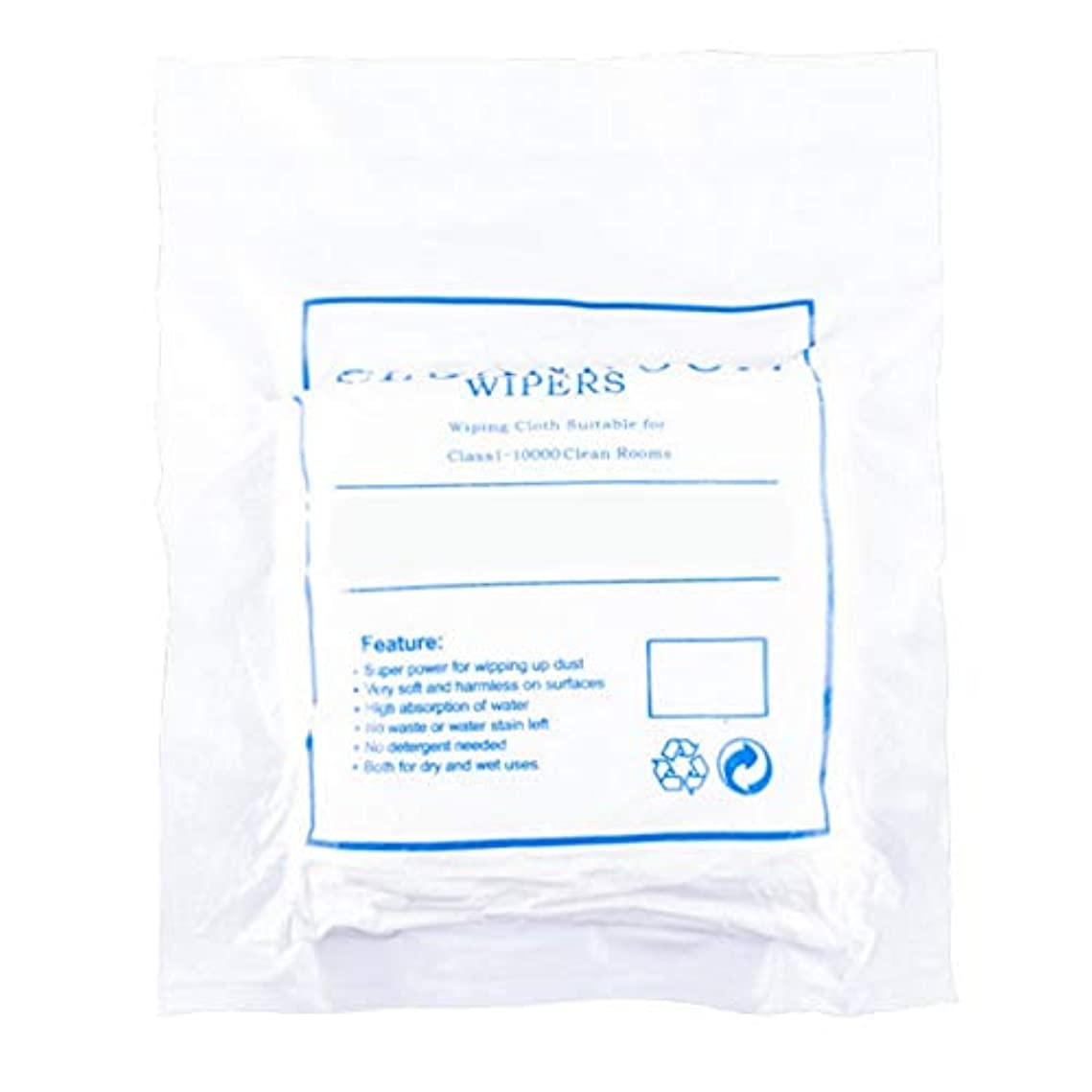 レトルトおとこ妨げるほこりのない布のスクリーンクリーニングほこりのない布のほこりのない紙3009ホワイト4インチ400個/パッケージ