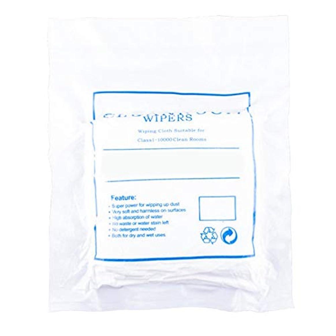 代わりに科学的温度ほこりのない布のスクリーンクリーニングほこりのない布のほこりのない紙3009ホワイト4インチ400個/パッケージ