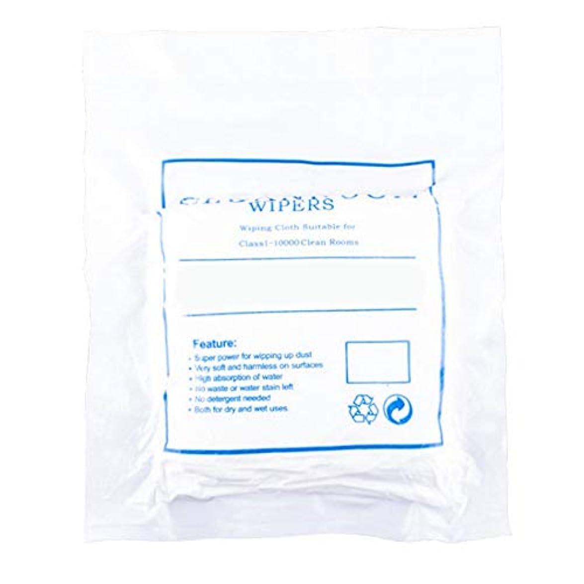 利用可能寝室動機付けるほこりのない布のスクリーンクリーニングほこりのない布のほこりのない紙3009ホワイト4インチ400個/パッケージ